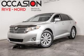 Used 2010 Toyota Venza AWD TOIT.PANO+CUIR+CAM.RECUL for sale in Boisbriand, QC