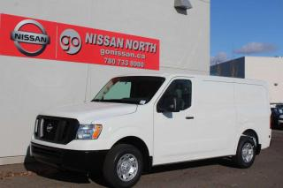 New 2020 Nissan NV 2500 Cargo NV2500 S/STANDARD ROOF/V6/BACKUP CAM for sale in Edmonton, AB