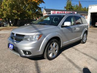 Used 2012 Dodge Journey SXT/Automatic/Certifed/Heated Seats/Bluetooth for sale in Scarborough, ON
