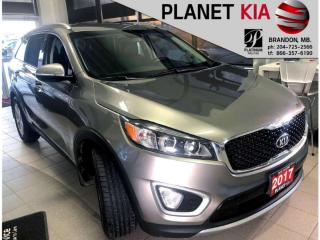 Used 2017 Kia Sorento EX Turbo - Leather Seats for sale in Brandon, MB