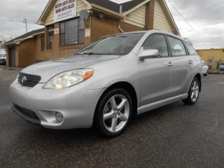 Used 2006 Toyota Matrix XR 1.8L Auto A/C Tilt Cruise Certified 197,000KMs for sale in Rexdale, ON