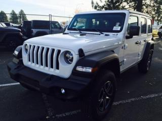 New 2020 Jeep Wrangler Unlimited Unlimited Sport S for sale in Richmond, BC