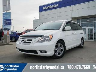 Used 2010 Honda Odyssey TOURING/LEATHER/NAV/ROOF/SENSORS/BSD for sale in Edmonton, AB