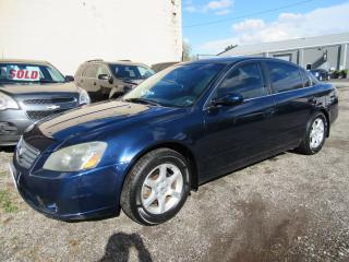 Used 2005 Nissan Altima 2.5 S - Certified w/ 6 Month Warranty for sale in Brantford, ON