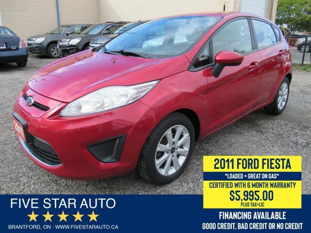 2011 Ford Fiesta SE - Certified w/ 6 Month Warranty