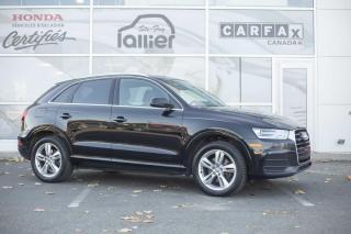 Used 2016 Audi Q3 Progressiv quattro ***JAMAIS ACCIDENTE** for sale in Québec, QC