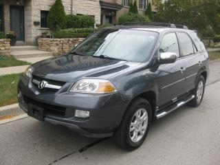 Used 2006 Acura MDX 7 PASS, LEATHER, CERTIFIED, SUNROOF, NO ACCIDENTS for sale in Toronto, ON