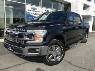 Used 2018 Ford F-150 XLT XTR CREW 6 1/2 V8 5.0L A L ETAT NEUF for sale in St-Georges, QC