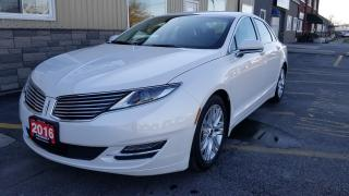 Used 2016 Lincoln MKZ AWD-HEATED LEATHER-REAR CAMERA-BLUETOOTH for sale in Tilbury, ON
