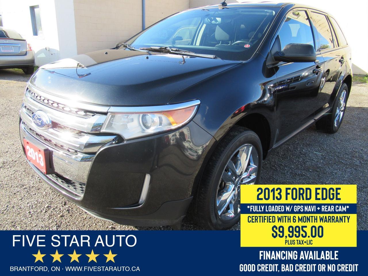 2013 Ford Edge SEL - Certified w/ 6 Month Warranty