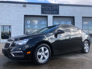 Used 2015 Chevrolet Cruze 2LT Leather Sunroof  Remote Start for sale in Guelph, ON