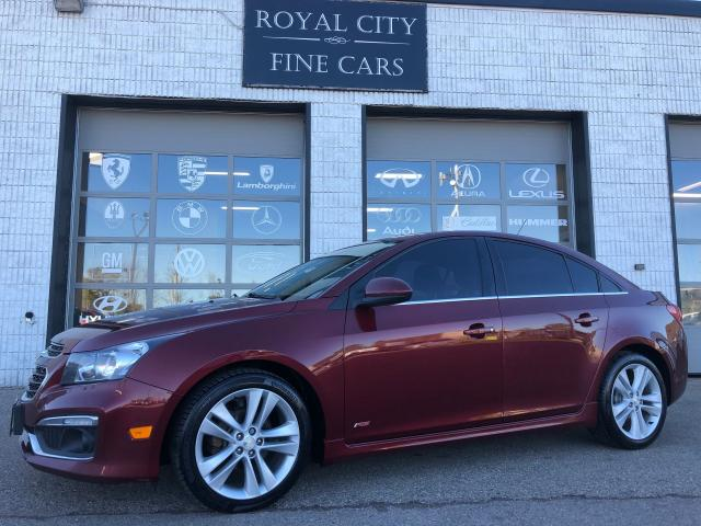 2015 Chevrolet Cruze 2LT RS Sunroof Leather Alloy Wheels