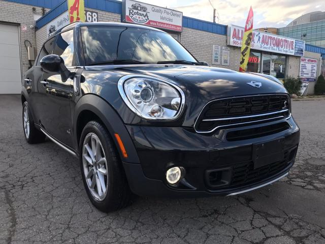 2016 MINI Cooper Countryman Accident Free | S | AWD | Leather | 5 Passengers