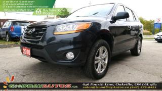 Used 2010 Hyundai Santa Fe Limited w/Navi|CAMERA|NO ACCIDENT|LEATHER|SUNROOF for sale in Oakville, ON