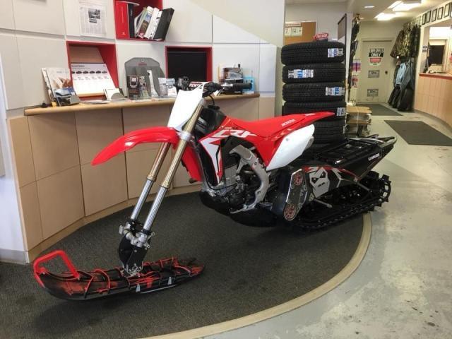 2018 Honda CRF450R SAVE $5200 YETI MOUNTAIN SLED