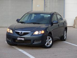 Used 2009 Mazda MAZDA3 NO-ACCIDENT,LOW KM,ALLOYS,POWER OPTIONS,LOADED for sale in Mississauga, ON