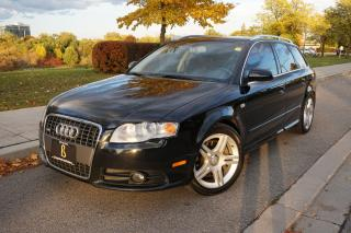 Used 2008 Audi A4 RARE / 1 OWNER / S-LINE / AVANT / LOCALLY OWNED for sale in Etobicoke, ON