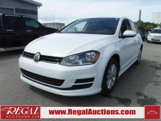 Used 2017 Volkswagen GOLF TRENDLINE 5D HBK 1.8 TSI 5SP for sale in Calgary, AB