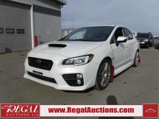Used 2015 Subaru IMPREZA WRX STI SPORT-TECH 4D SEDAN AWD for sale in Calgary, AB