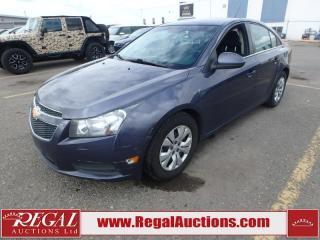 Used 2013 Chevrolet Cruze LT 4D Sedan Turbo 1.4L for sale in Calgary, AB