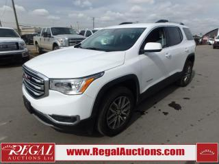 Used 2018 GMC ACADIA SLE2 4D UTILITY AWD 3.6L for sale in Calgary, AB