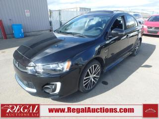 Used 2017 Mitsubishi Lancer GTS 4D Sedan AT AWD 2.4L for sale in Calgary, AB