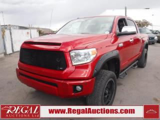 Used 2014 Toyota TUNDRA PLATINUM CREW MAX 4WD 5.7L for sale in Calgary, AB