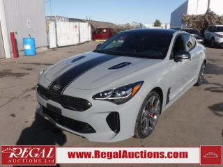 Used 2018 Kia STINGER GT LIMITED 4D SEDAN AWD 3.3L for sale in Calgary, AB