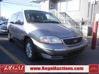 Used 2001 Ford Windstar 4D WAGON for sale in Calgary, AB