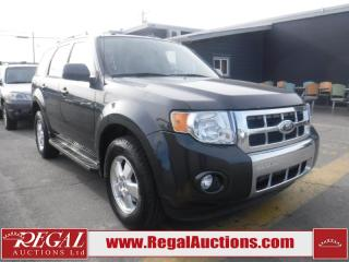 Used 2009 Ford Escape Limited 4D Utility AWD for sale in Calgary, AB