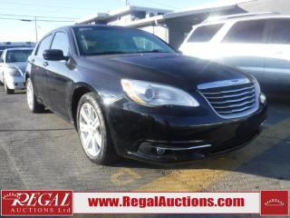 Used 2013 Chrysler 200 Touring 4D Sedan for sale in Calgary, AB