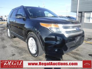 Used 2012 Ford Explorer XLT 4D Utility AWD for sale in Calgary, AB