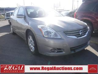 Used 2012 Nissan Altima S 4D Sedan for sale in Calgary, AB