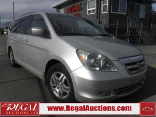 Used 2005 Honda Odyssey Touring 4D Wagon for sale in Calgary, AB