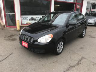 Used 2010 Hyundai Accent GL for sale in Hamilton, ON