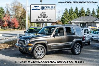 Used 2006 Jeep Liberty Limited V6, 4X4, Sunroof, Leather, Loaded! for sale in Surrey, BC