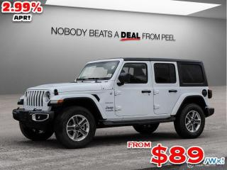 New 2020 Jeep Wrangler Unlimited Sahara for sale in Mississauga, ON
