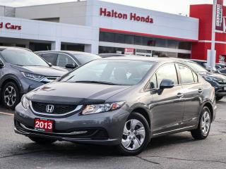 Used 2013 Honda Civic LX|ONE OWNER for sale in Burlington, ON