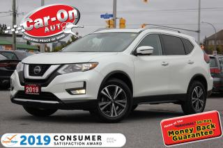 Used 2019 Nissan Rogue SV AWD NAV PANO ROOF REAR CAM ADAPTIVE CRUISE for sale in Ottawa, ON