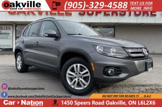 Used 2014 Volkswagen Tiguan AWD COMFORTLINE | HTD SEATS | ACCDIENT FREE for sale in Oakville, ON