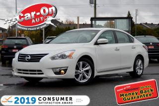 Used 2015 Nissan Altima SL LEATHER NAV SUNROOF REAR CAM HTD SEATS LOADED for sale in Ottawa, ON