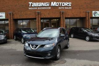 2015 Nissan Rogue SL I NAVIGATION | LEATHER | SUNROOF I REAR CAM I HEATED SEAT