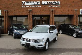 Used 2018 Volkswagen Tiguan TSI | 7-PASSENGER | NO ACCIDENTS I REARCAM I HEATEDSEAT I BT for sale in Mississauga, ON