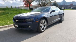 Used 2010 Chevrolet Camaro 2dr Cpe 2LT | 2 Owner | RS Package | 20