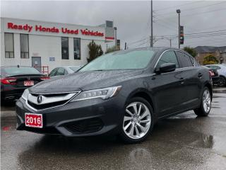 Used 2016 Acura ILX Tech Pkg - Navigation - Leather - Sunroof for sale in Mississauga, ON