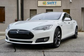 Used 2015 Tesla Model S P90DL AUTOPILOT, LUDICROUS, SUBZERO, 21 INCH TURBINES, CPO WARRANTY for sale in Burlington, ON