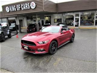 Used 2017 Ford Mustang GT Convertible 5.0L V8 for sale in Langley, BC