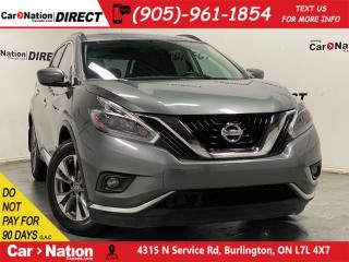 Used 2018 Nissan Murano SV| AWD| PANO ROOF| NAVI| for sale in Burlington, ON