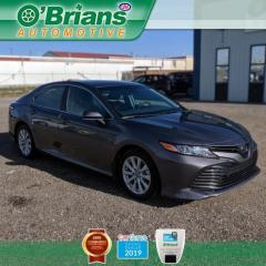 Used 2019 Toyota Camry LE w/Mfg Warranty, Backup Camera, Heated Seats, Safety Sense for sale in Saskatoon, SK