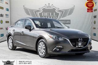 Used 2015 Mazda MAZDA3 GS, NAVI, BACK-UP CAM, SUNROOF, HEATED SEATS for sale in Toronto, ON